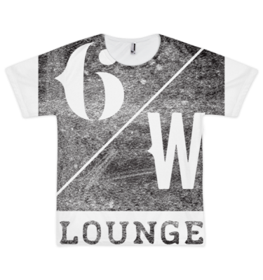 6 WEST Short sleeve men's t-shirt (unisex)