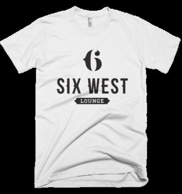 6 WEST LOUNGE Short sleeve men's t-shirt