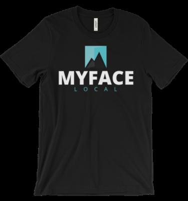 Myfacelocal Unisex short sleeve t-shirt